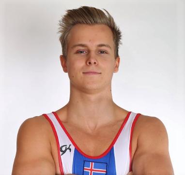 Valgarð Reinhardsson Fimleikamaður úr Gerplu